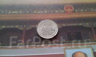 Китай. Редкие 5 центов 1936 года! Торг!