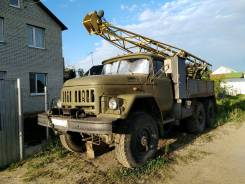 ЗИЛ. Буровая установка УГБ-50 на базе