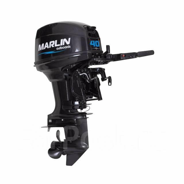Marlin. 40,00л.с., 2-тактный, бензиновый, нога S (381 мм), Год: 2017 год