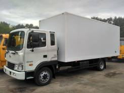 Hyundai HD120. - фургон изотермический. масса 11990 кг, 5 899 куб. см., 6 800 кг.