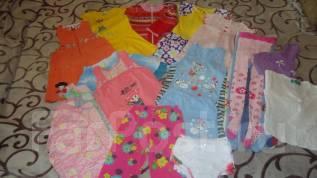 Вещи пакетом для девочки. Рост: 98-104 см