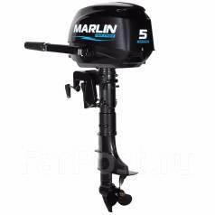 Marlin. 5,00л.с., 4-тактный, бензиновый, нога S (381 мм), Год: 2017 год