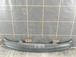 Накладка на бампер. Hyundai Solaris