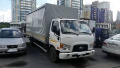 Hyundai HD78. Грузовик Hyundai HD 78 бортовой (тент, ворота штора), 3 900 куб. см., 5 000 кг.