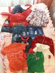 Пакет вещей для девочки 3-5 лет. Рост: 98-104, 104-110 см