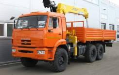 СПМ. Камаз 43118-3027-46+Soosan SCS736 + борт. сталь 6.2 КМУ, 3 000куб. см., 6x6