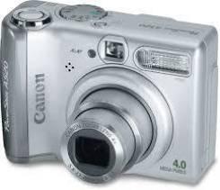Canon PowerShot. 4 - 4.9 Мп, зум: 4х