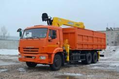 Камаз 65115. КМУ Самосвал КамАЗ-65115-773094-42+КМУ Soosan SCS736L2 Top, 11 500 куб. см., 15 000 кг.