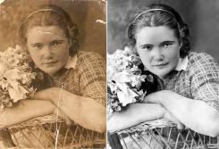 Фотошоп, реставрация фото, ретушь, фотомонтаж, коллаж из фото