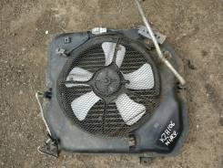 Вентилятор радиатора кондиционера. Toyota Hiace, KZH106G, KZH106W Двигатель 1KZTE