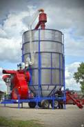 АгроТехМаш АТМ-10. Мобильная зерносушилка АТМ 10 (дизельнаягазовая)
