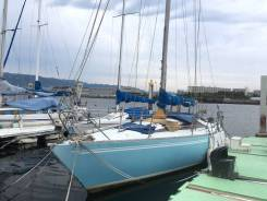 Яхта парусная крейсерская Yamaha 36. Длина 11,00м., Год: 1982 год. Под заказ
