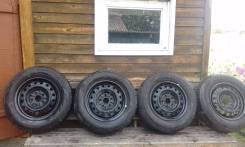 Колеса Bridgestone Ecopia EX10 205/65/R15. x15 5x114.30 ЦО 60,1мм.