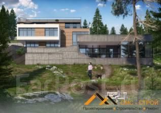 Лакшери коттедж 443 кв. м. Проект дома по лучшей цене!. 400-500 кв. м., 3 этажа, 5 комнат, комбинированный