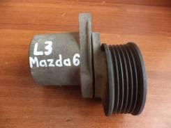 Натяжитель ремня. Mazda MPV, LW3W Mazda Mazda3, BK Mazda Mazda6 Mazda Atenza, GG3P, GYEW, GY3W, GGES, GGEP, GG3S Двигатели: L3VE, L3, L3VDT, L3DE, MZR...