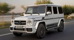 Кенгурятники. Mercedes-Benz G-Class, W463