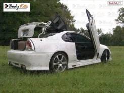 Порог пластиковый. Honda Prelude, BB4
