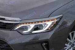 Фары LED Toyota Camry 55 (Камри) 2014-2017г. Стиль Mercedes
