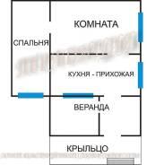Продается дом с участком на повороте на Шамору во Владивостоке. Улица Айвазовского 44, р-н Океанская, площадь дома 45 кв.м., электричество 15 кВт, от...