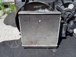 Радиатор охлаждения двигателя. Mitsubishi Pajero Mini, H58A Двигатель 4A30T