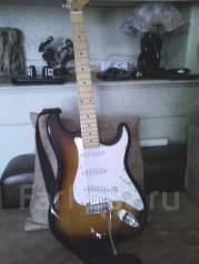 Продам электро гитару Фендер новая цена 5500 торг