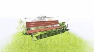 Садовая мебель любых форм и размеров! От 1500 р