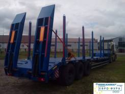 Техомs 983990. Трал-контейнеровоз-сортиментовоз 2017 г. в. В наличии в НСК, 40 000 кг.