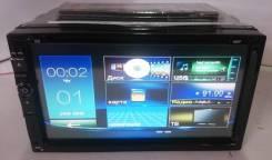 "Магнитолa 2Din №6926, экран сенсорный 7"" DVD, USB, microSD"