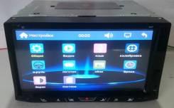 "Магнитола 2Din №6929, экран сенсорный 7"" DVD, USB, microSD"