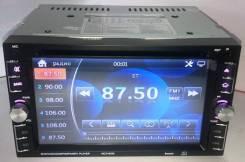 "Магнитола 2Din №6205, экран сенсорный 6,2"" DVD, USB, microSD"