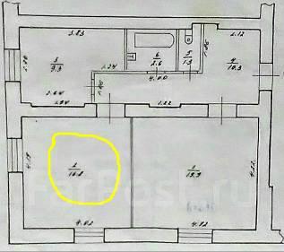 Комната, улица Белорусская 56. Индустриальный, частное лицо, 28 кв.м.