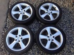 Оригинал Mazda R17 c шинами Dunlop 215/45R17. 7.0x17 5x114.30 ET55