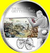 Тувалу 1 доллар 2009 Gettersburg. Битва при Геттисберге. Солдат