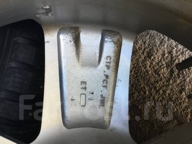215/55R17 Sailun шипы на литье 5/114,3 (1701). 7.0x17 5x114.30 ET39 ЦО 59,0мм.