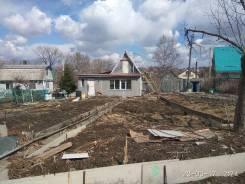 Продается дачный участок 1300м2 с домом из бруса. От агентства недвижимости (посредник). Фото участка