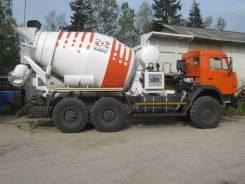 Камаз 43118 Сайгак. Автобетоносмеситель КамАЗ 43118 (6х6) Привод от автономного двигателя, 11 700 куб. см., 6,00куб. м.