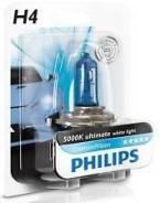 Лампа 12v головной свет philips h4 diamondvision Philips арт.12342DVB1