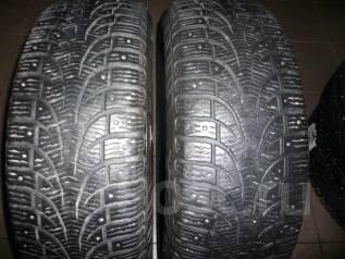 Pirelli Winter Carving. Зимние, шипованные, износ: 30%, 2 шт