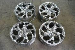 Комплект литых дисков Mekki Wheel # S-010. 7.0x16, 5x114.30, ET25