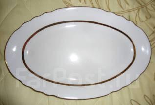 Блюдо овальное СССР 70-е 36,5 х 23,5 см. Новое. В идеальном состоянии. Оригинал