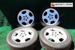 """Оригинальные диски Toyota Kluger с резиной на докатку. 6.5x16"""" 5x114.30 ET35 ЦО 65,1мм."""