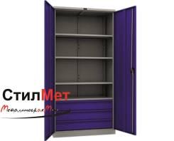Шкаф металлический инструментальный для инструмента ТС 1995-004030