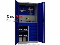 Шкаф металлический инструментальный для инструмента ТС 1995-121215