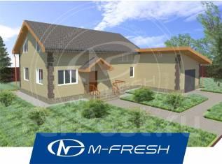 M-fresh Elegance Bonus (Дом с зимним садом и гаражом на две машины! ). 200-300 кв. м., 1 этаж, 4 комнаты, бетон