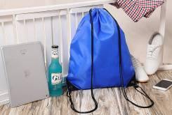 Рюкзак-мешок синий 33x40 см