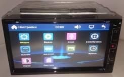 "Магнитола 2Din №6930, экран сенсорный 7"" DVD, USB, microSD"