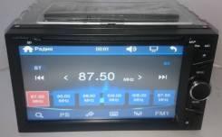 """Магнитола 2Din. №6507, экран сенсорный 6,2"""", DVD, радио, USB, AUX"""