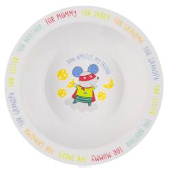 "Глубокая тарелка для кормления ""FEEBING BOWL"" Happy Baby -"