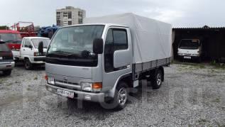 Nissan Atlas. Односкатник с новым тентом, 3 200 куб. см., 1 500 кг.