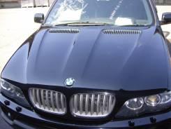Капот. BMW X5, E53 Двигатели: M54B30, M57D30TU, N62B44, N62B48